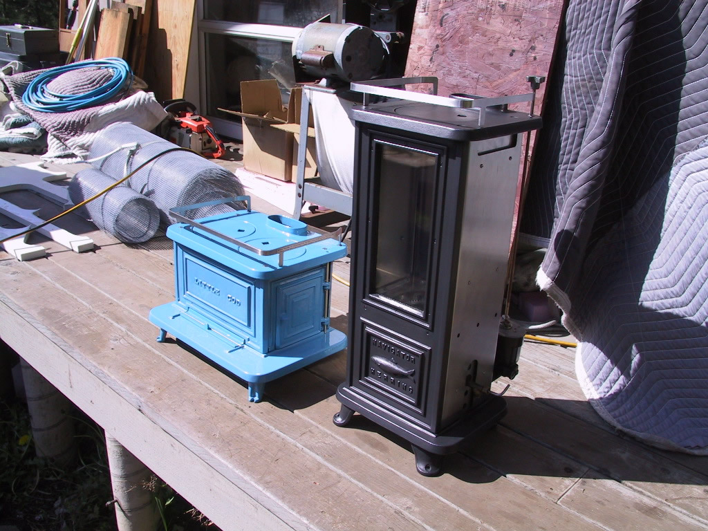 Yes, it's a tall stove which happens as a result of the burner's flame  pattern. - HERRING - Diesel / Biodiesel
