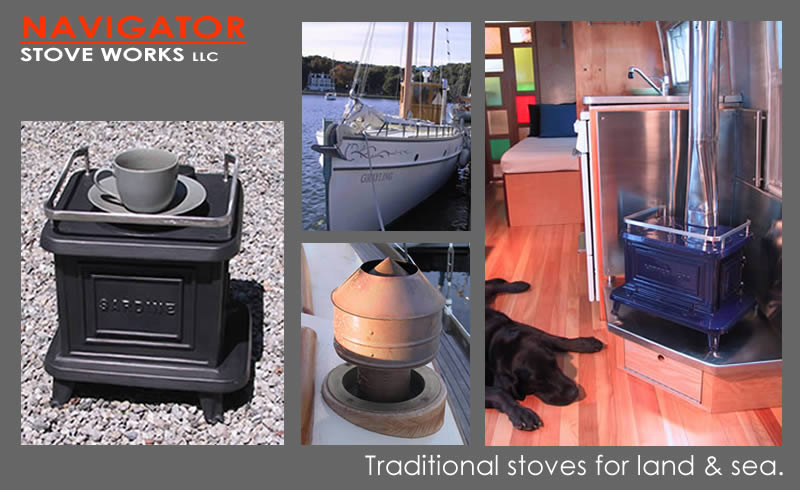 CLICK TO ENTER SITE - Traditional Cast Iron Marine Stoves By Navigator Stove Works,Inc.